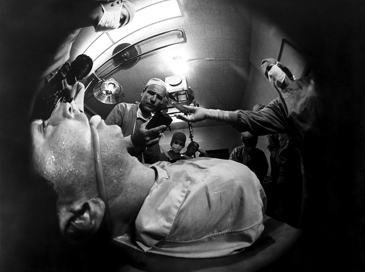 """This may hurt a little."" Perspectives go askew in more way than several. Seconds John Frankenheimer, 1966 Cinematography 
