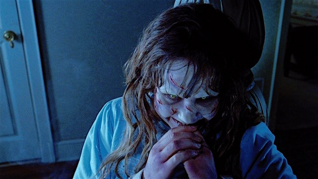 """Your mother sucks cocks in Hell."" Linda Blair The Exorcist William Friedkin, 1973 Cinematography 