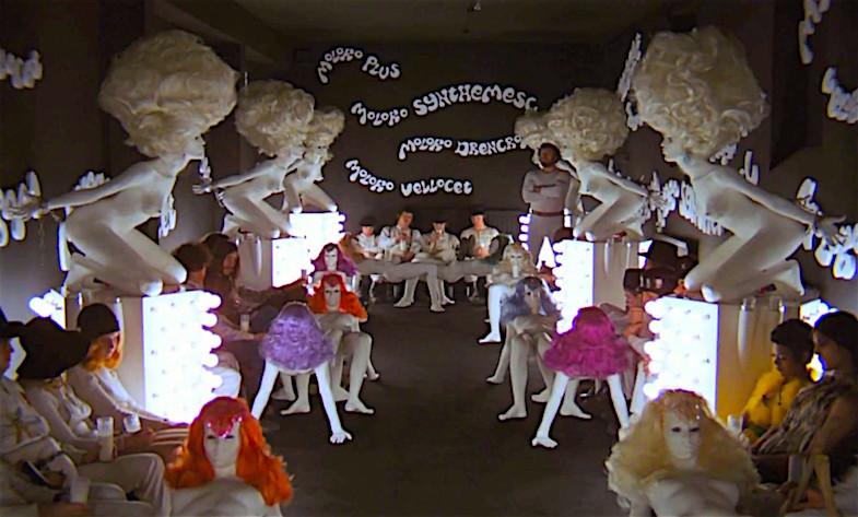 """Giddy well, little brother. viddy well."" A Clockwork Orange Stanley Kubrick, 1971 Cinematography | John Alcott"