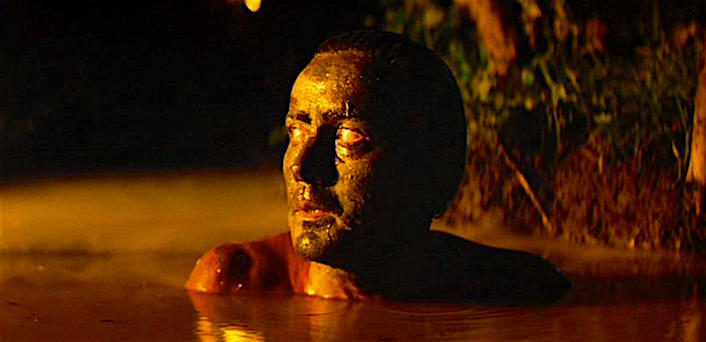 """Never get out of the boat."" A rather bored and sleepy narration attempts to assign meaning to the meaningless... Martin Sheen Apocalypse Now Francis Ford Coppola, 1979 Cinematography 