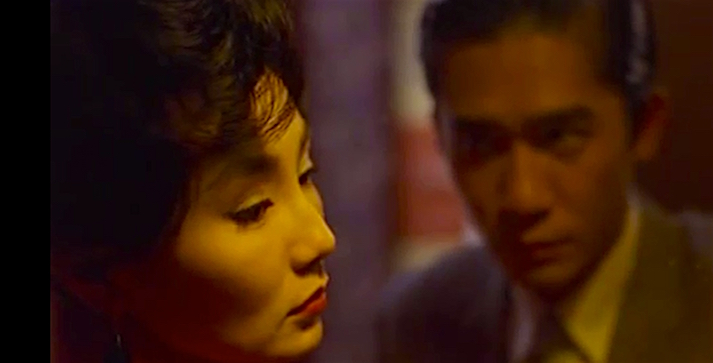 Maggie Cheung and Tony Chiu Wai Leung in the shadows of perspective. In the Mood for Love Kar-wai Wong, 2000 Cinematography | Christopher Doyle