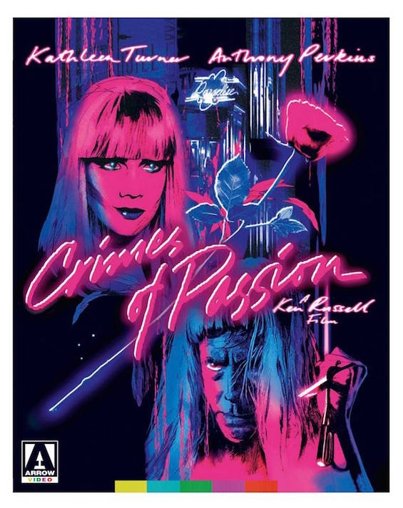 Crimes of Passion Arrow Video Art Design by Twins of Evil