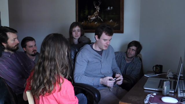 Is this really a film within the film or has it been planned. Does reality fit into this realism? Kate Lyn Sheil, Dustin Guy Defa, Adam Wingard, Sophia Takal, Lawrence Michael Levine and Joe Swanberg The Zone Joe Swanberg, 2011