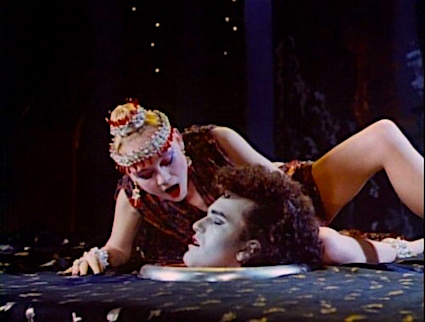 Ready for her kiss... Salome's Last Dance Ken Russell, 1988 Cinematography | Harvey Harrison