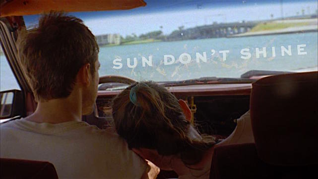 Kentucker Audley and Kate Lyn Sheil have good hearts, but they do very bad things. Sun Don't Shine Amy Seimetz, 2012 Cinematography | Jay Keitel