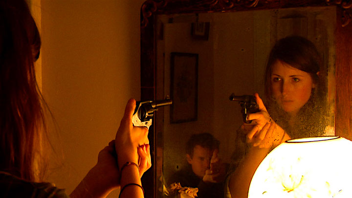 Taking aim. Kate Lyn Sheil and Joe Swanberg Silver Bullets Joe Swanberg, 2011