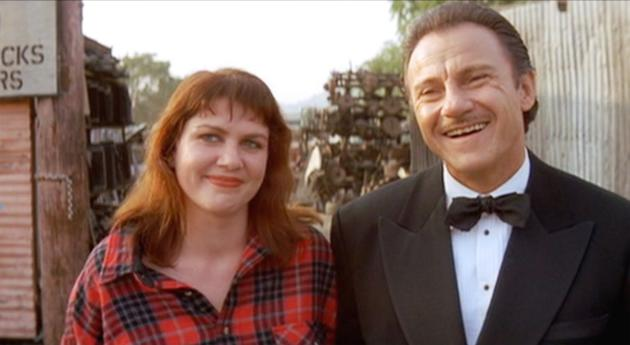 Julia Sweeney & Harvey Keitel Pulp Fiction Quentin Tarantino, 1994