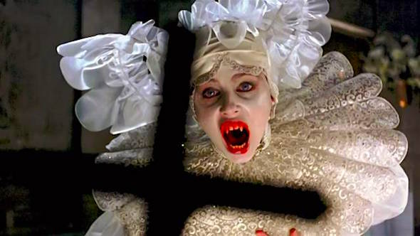 Sadie Frost gets everything perfect, but poor Miss. Westenra has never been quite this Satanic! Sadie Frost Bram Stoker's Dracula Francis Ford Coppola, 1992 Cinematography | Michael Ballhaus