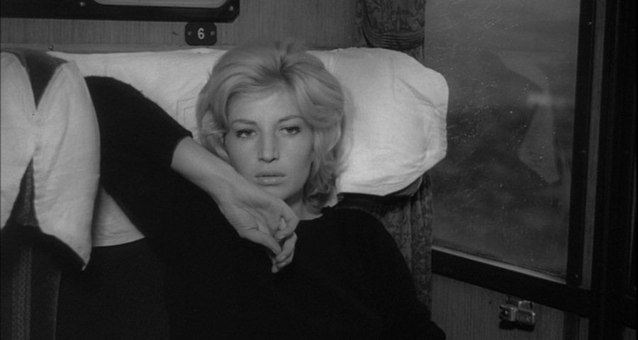 """A new adventure in filmmaking..."" Monica Vitti contemplates. L'Avventura Michelangelo Antonioni, 1960 Cinematography 