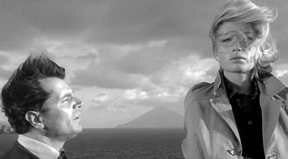 Gabriele Ferzetti and Monica Vitti L'Avventura Michelangelo Antonioni, 1960 Cinematography | Aldo Scavarda