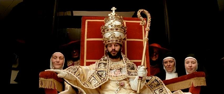 Ringo Starr is The Pope Lisztomania Ken Russell, 1975 Cinematography | Peter Suschitzky