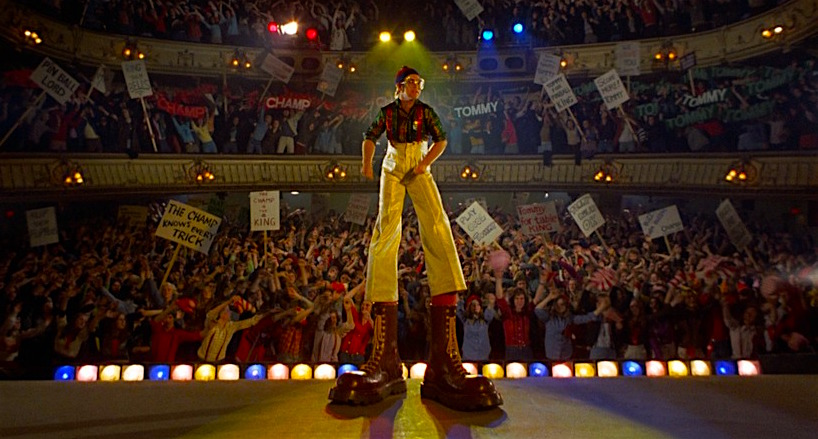 The coolest platform shoes on record... Elton John is The Pinball Wizard TOMMY Ken Russell, 1975 Cinematography | Dick Bush