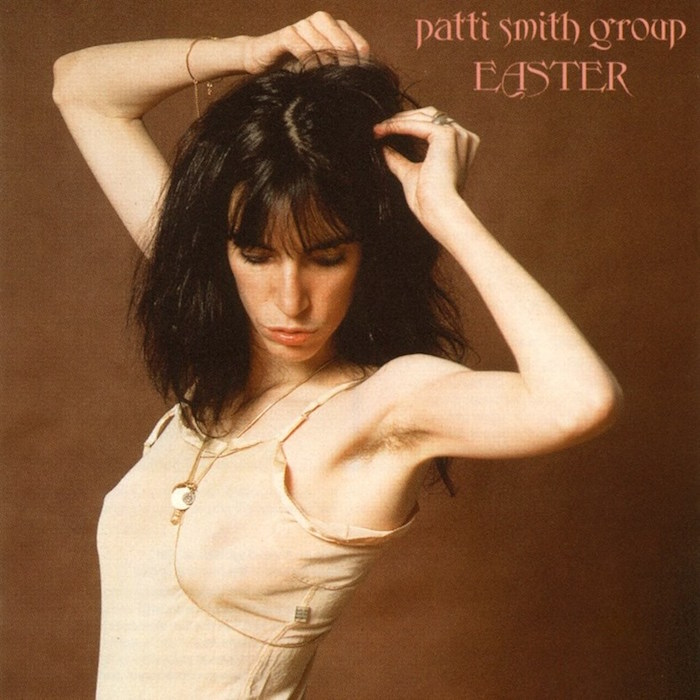 Iconic, controversial and defiantly erotic... Patti Smith Group Easter, 1978