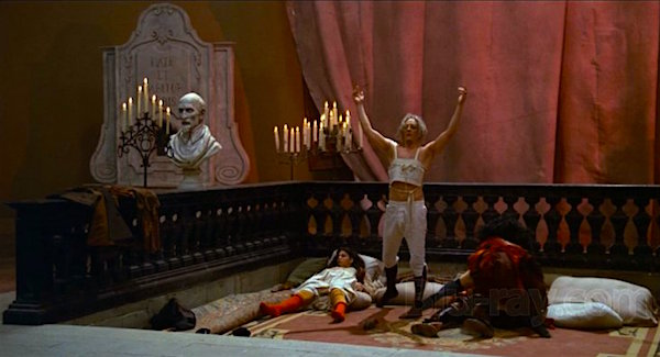 Win! He has fucked! Fellini's Casanova Federico Fellini, 1976 Cinematography | Giuseppe Rotunno