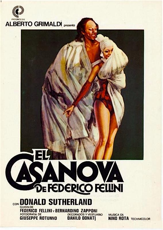 La Casanova de Fellini Federico Fellini, 1976