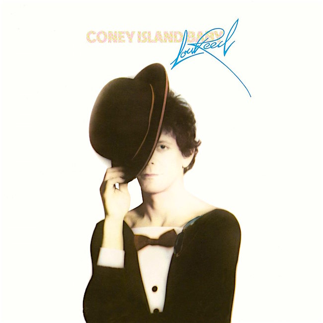 Awesome album cover! Lou Reed Coney Island Baby, 1976