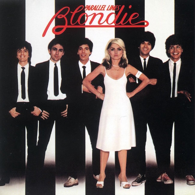 NYC PUNK tries some tongue in cheek disco and goes mainstream... Blondie Parallel Lines, 1978