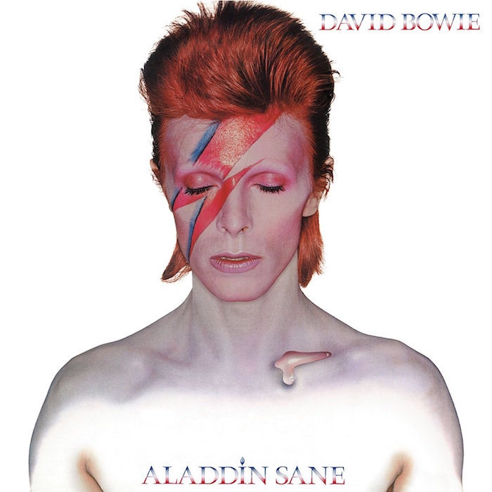 Does it get any cooler? David Bowie Aladdin Sane, 1973