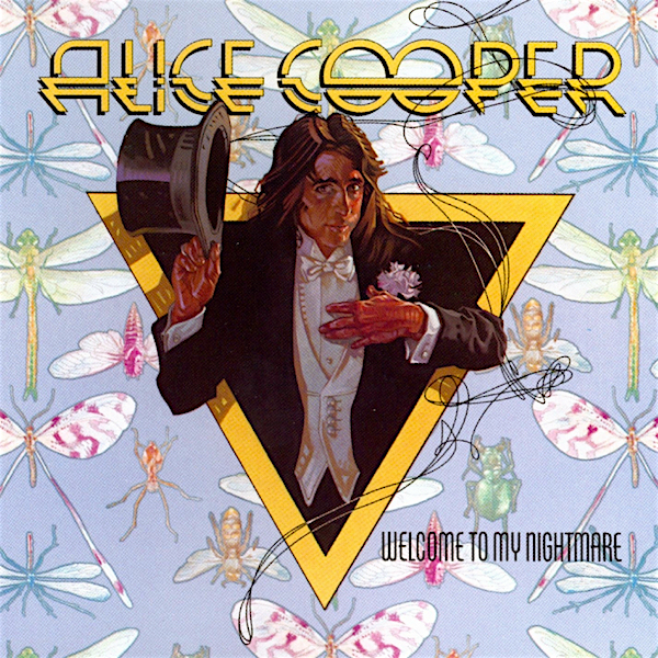 One of those album covers that just sticks in your mind. ...As do many of its songs. Alice Cooper Welcome To My Nightmare, 1975