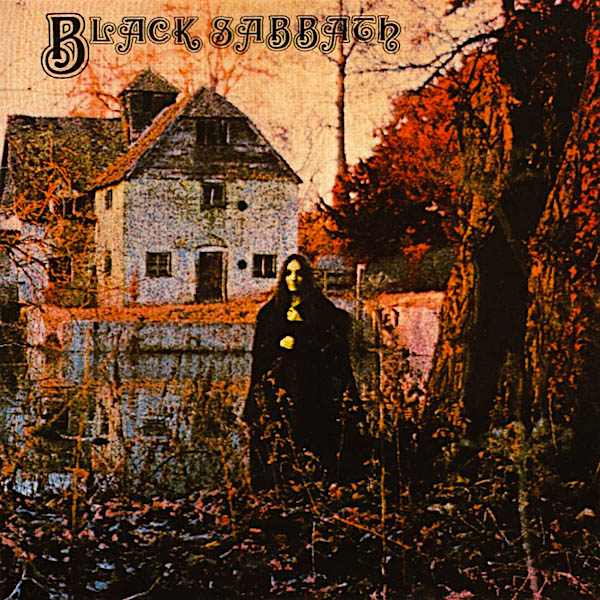 So one could argue that 1970 was still the 1960's, but this album both rocked and scared me! Featuring a cover that haunts... Black Sabbath Black Sabbath, 1970