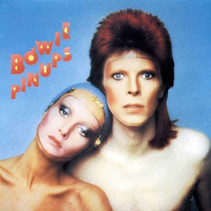 Never has a discarded fashion shoot yielded such a classic album cover! David Bowie Pin Ups, 1973