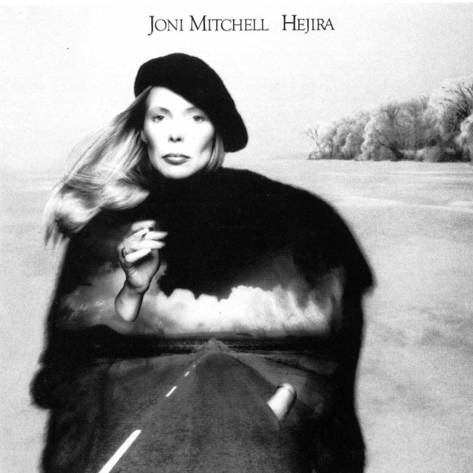 A folk singer goes in a whole new direction... Joni Mitchell Hejira, 1976