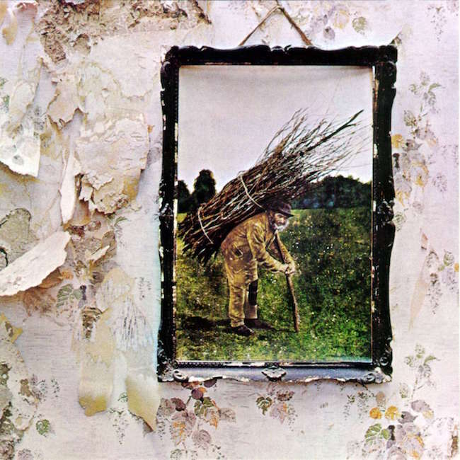 How many were inspired to learn the guitar after hearing this album? The art design is excellent. Led Zeppelin IV, 1971