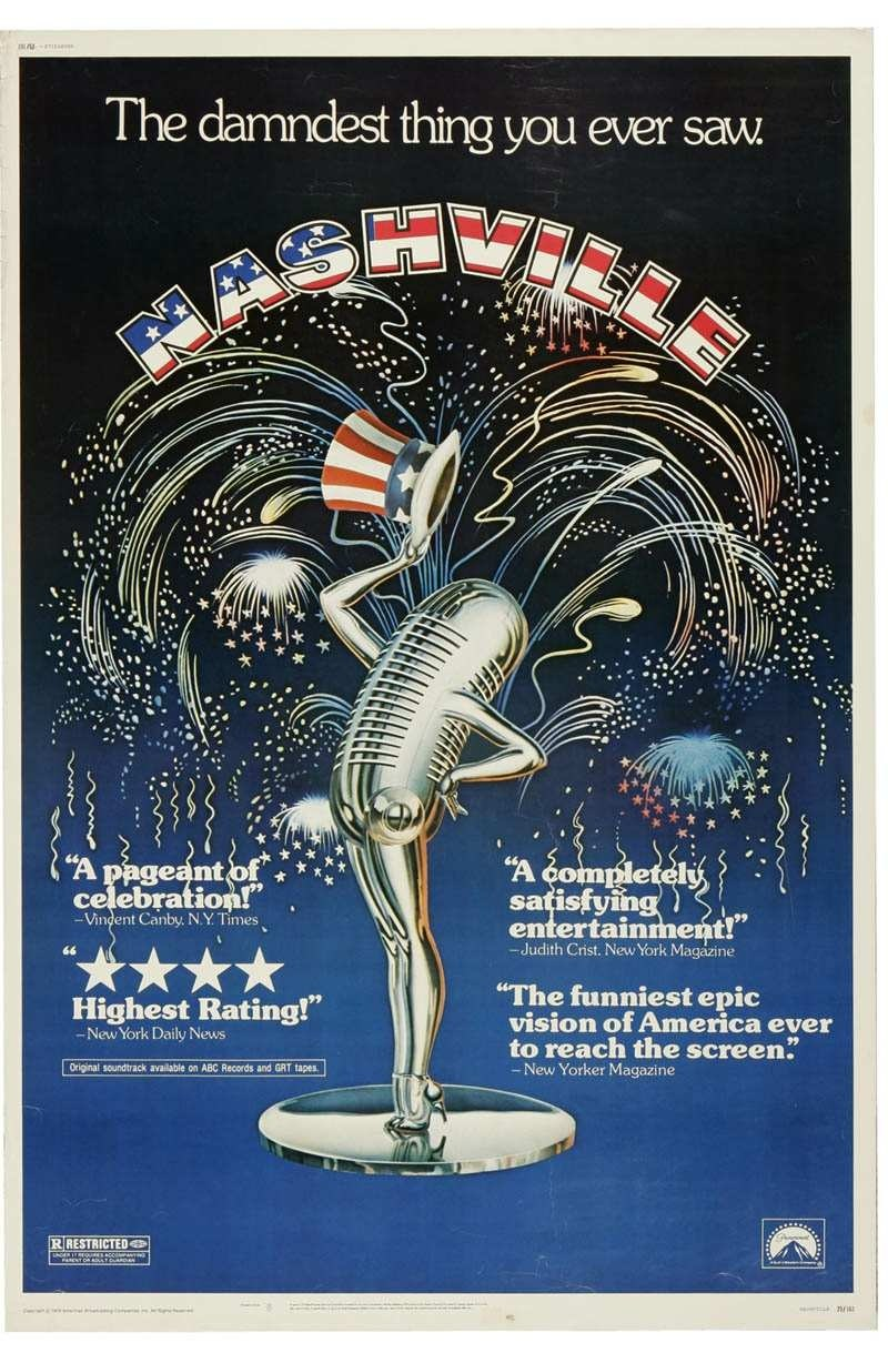 """The Home of Country Music..."" NASHVILLE Robert Altman, 1975"
