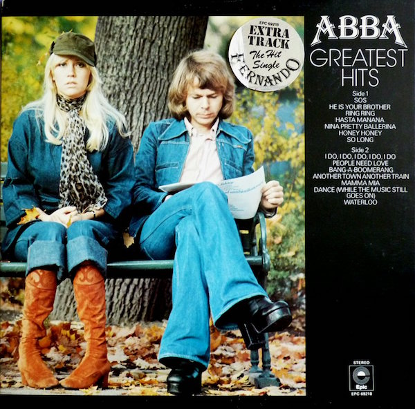 Pop and funky fashions! ABBA Greatest Hits, 1975