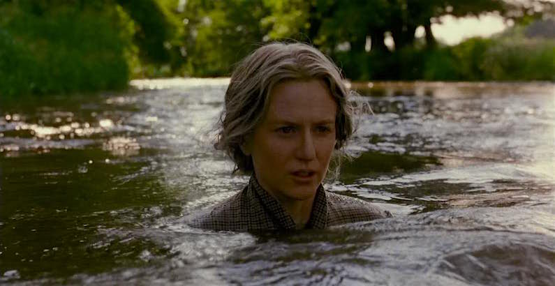 """always the years between us, always the years. Always the love. Always the hours..."" Nicole Kidman readies to descend. The Hours Stephen Daldry, 2002 Cinematography 
