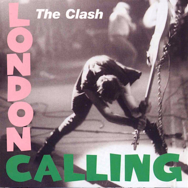 Yet another cool album cover from Strummer and friends... The Clash London Calling, 1979