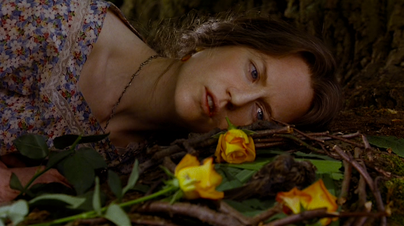 """I would tell you that I wrestle alone in the dark, in the deep dark, and that only I can know..."" Nicole Kidman The Hours Stephen Daldry, 2002 Cinematography 