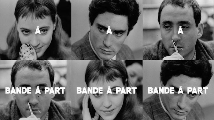 """Now is the time for a digression in which to describe our heroes' feelings..."" Band of Outsiders Jean-Luc Godard, 1964"