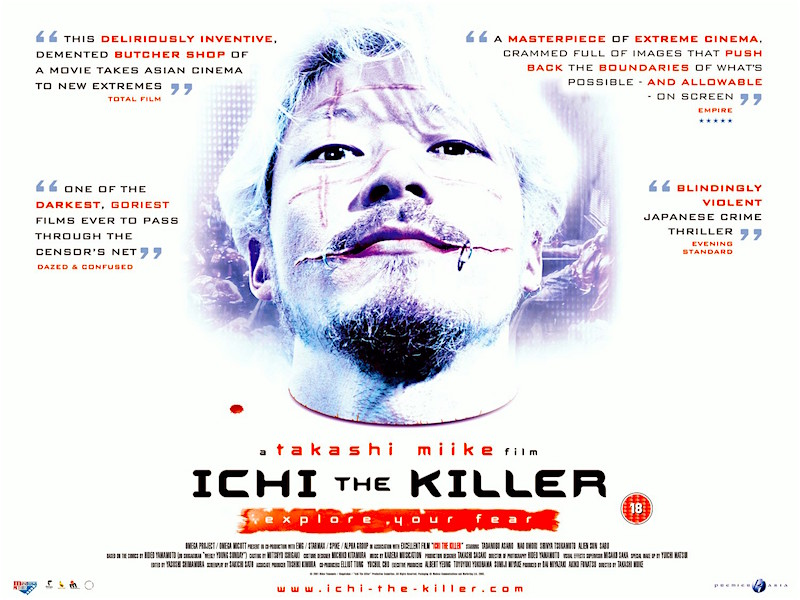 """Love really hurts... Koroshiya 1 / Ichi The Killer Takashi Miike, 2001"