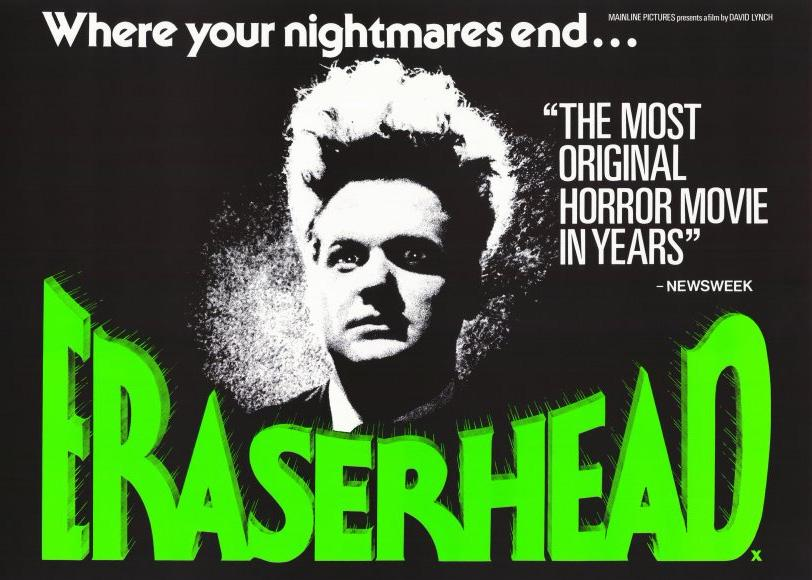 Starting as an odd Midnight Movie, David Lynch's debut feature film is now considered a work of cinematic art. Eraserhead David Lynch, 1977