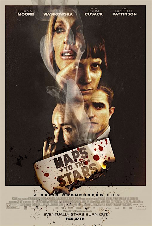 """Eventually stars burn out..."" This 2014 was far too quickly dismissed and ignored. This is a Cult Film that is destined for later appreciation and re-evaluation. Map to the Stars David Cronenberg, 2014"