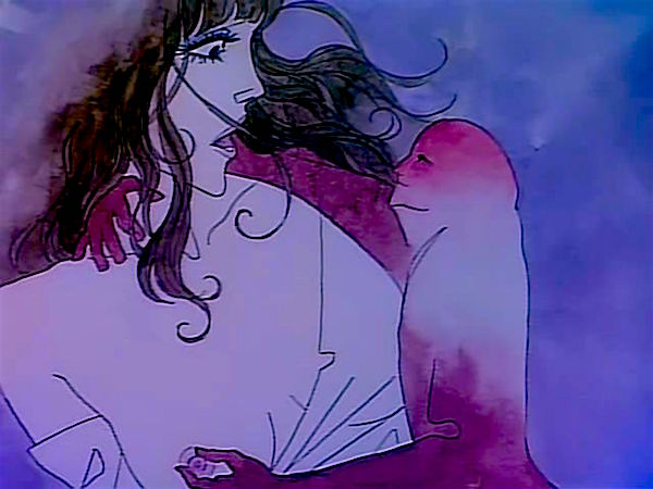 """Are you The Devil?"" ""Yes,"" replies the cock along with an opportunity for empowerment... Belladonna of Sadness Eiichi Yamamoto, 1973 Cinematography 