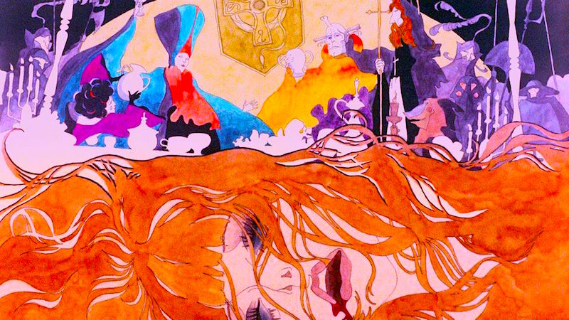 Believe it or not, this film's animated depiction of rape is disorienting, visceral and horrifically disturbing. Belladonna of Sadness Eiichi Yamamoto, 1973 Cinematography | Shigeru Yamasaki
