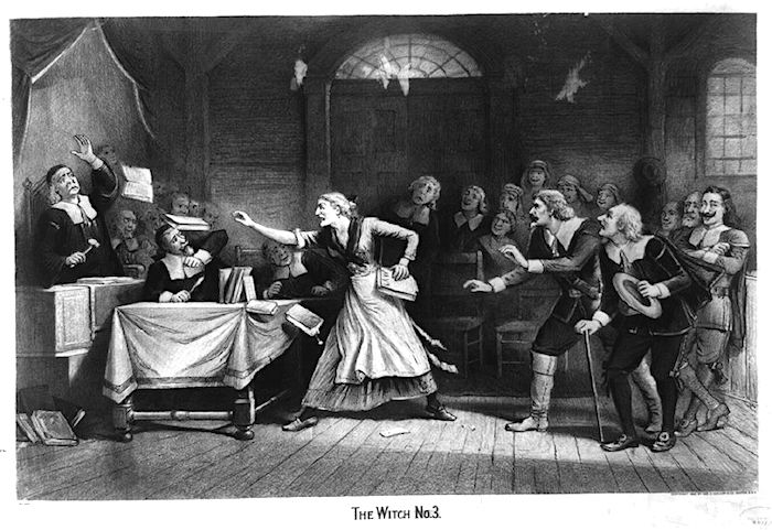 an analysis of the salem witch trials in literature