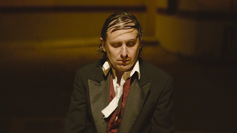 """Why don't rapists eat at T.G.I. Friday's? Well, it's hard to rape with a stomachache."" The jokes induce squirms vs. laughs as the comic's ego deconstructs. Gregg Turkington ENTERTAINMENT Rick Alverson, 2014 Cinematography 