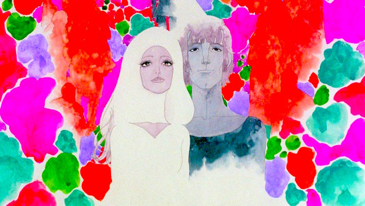 The identity finds no solace or safety in marriage... Belladonna of Sadness Eiichi Yamamoto, 1973 Cinematography | Shigeru Yamasaki