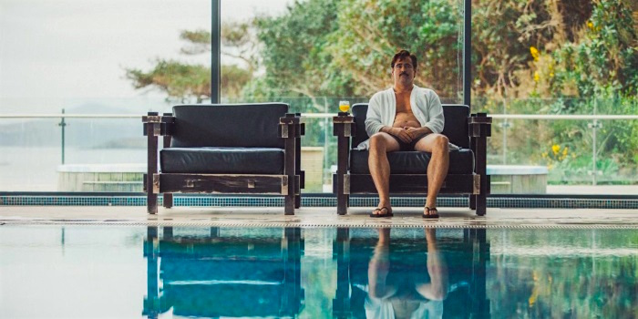 """I'm going to do it with a knife."" Colin Farrell The Lobster Yorgos Lanthimos, 2015 Cinematography 