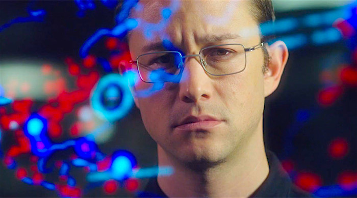 On paper, it seems like the perfect director and lead actor for the subject matter. But I can't be the only person now suspecting that it's not going to work. ? Joseph Gordon-Levitt SNOWDEN Oliver Stone, 2016 Cinematography | Anthony Dod Mantle