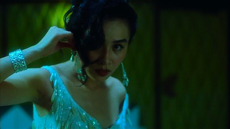 Beauty hides in the shadows... Carina Lau Days of Being Wild Kar-wai Wong, 1990 Cinematography | Christopher Doyle