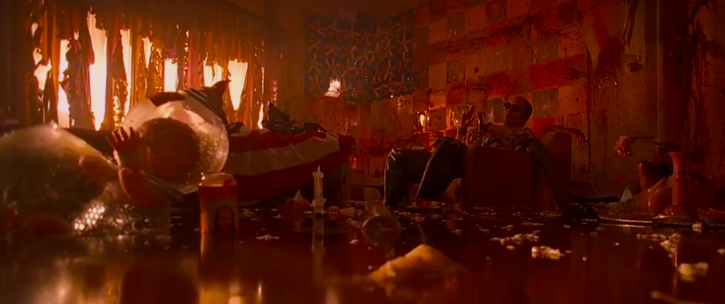 The neon glow of Vegas seeps into the hotel rooms, desert and a drug fueled mind. Fear and Loathing in Las Vegas Terry Gilliam, 1998 Cinematography | Nicola Pecorini