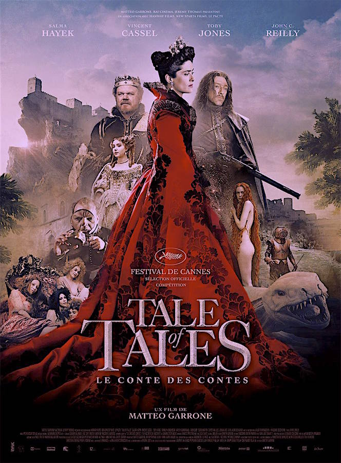 """A feast for the imagination"" Tale of Tales Matteo Garrone, 2016"