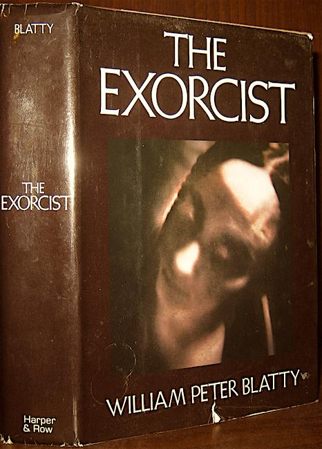"""The child was slender as fleeting hope."" The Exorcist William Peter Blatty, 1971"