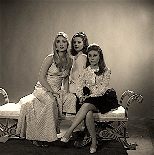 """Inscribed on back: """"Friend for life! XOXO, Jen"""" Jenny, Annie and Neely New York City, 1967"""
