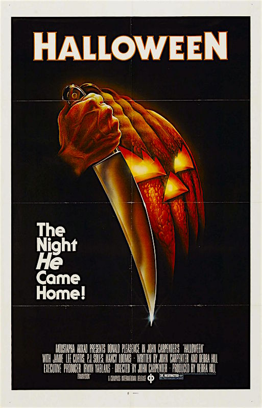 """The Night He came home..."" HALLOWEEN John Carpenter, 1978"