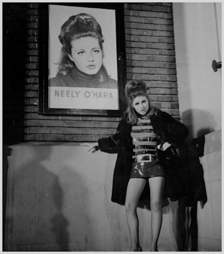 """Inscription on back of photo: """"To Annie! I didn't have dough handed to me because of my good cheekbones, I had to work for it!"""" Neely, '67"""